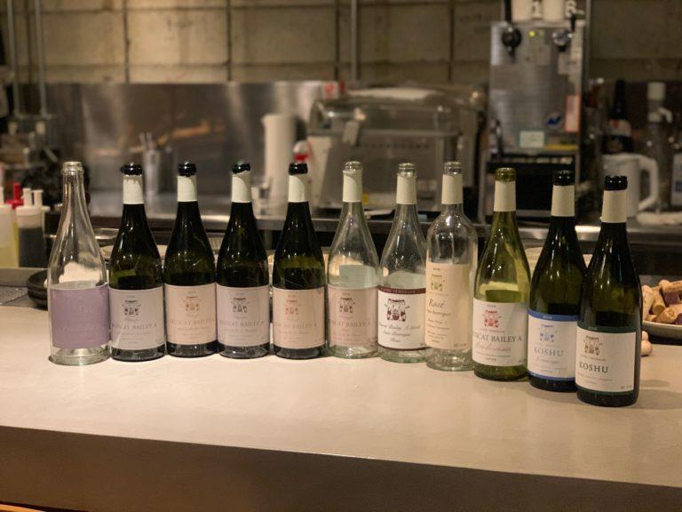 ドメーヌテンゲイジのワイン会