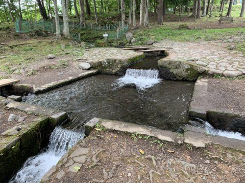 北杜市にある三分一湧水