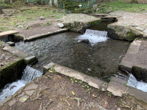 北杜市にある三分一湧水の拡大