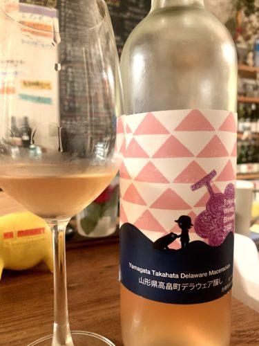 東京ワイナリーで造られたのデラウェアの新酒。2020年