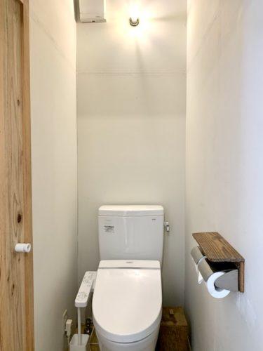 富士吉田市のホステル「SARUYA」本館のトイレ