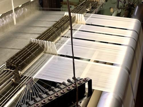 WATANABE TEXTILE(渡邊織物)の工場