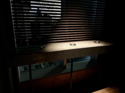 MUJI HOTEL GINZAの喫煙室