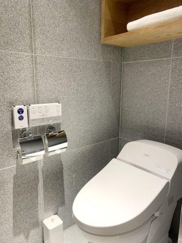 MUJI HOTEL GINZAのタイプAのトイレ