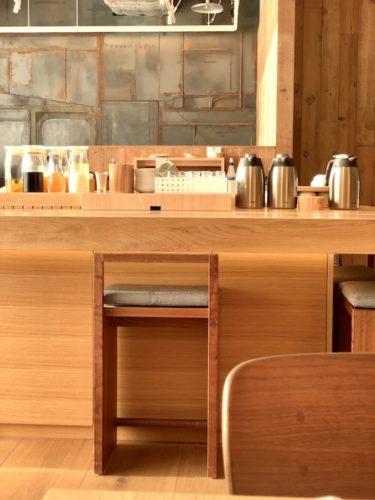 MUJI HOTEL GINZAの朝食会場「WA」のドリンクバー