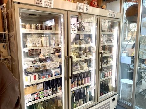 発酵デパートメントの物販冷蔵庫