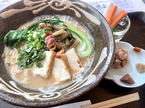 発酵デパートメントでたべた南雲米麺(ミーセン)