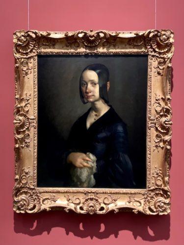 ボーリヌ・V・オノの肖像 1841 - 1842制作 油彩