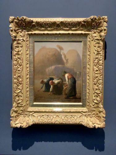 落穂広い、夏 1853年 油彩
