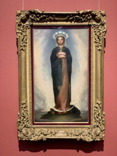 無限大の聖母 1858年 油彩