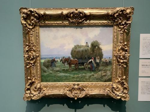 牧草の取り入れ /ジュリアン・デュプレ 1890 - 95年頃 油彩