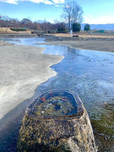 双葉水辺公園の噴水