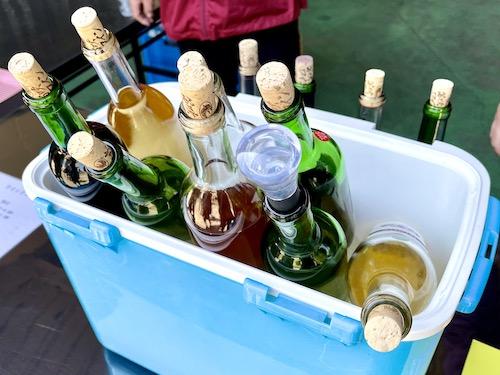 笛吹ワインのワイン群