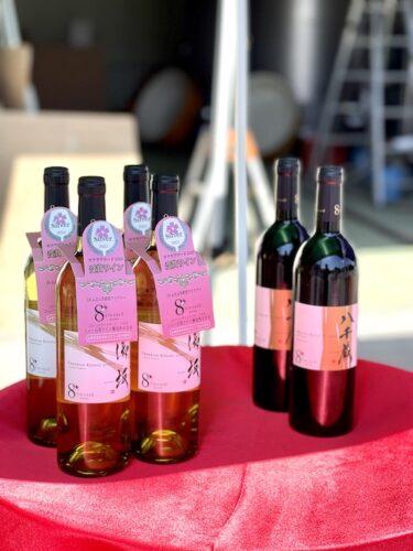 ニュー山梨ワイン醸造のサクラアワード受賞ワイン