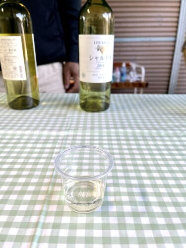 北野呂醸造のシャルドネ2014