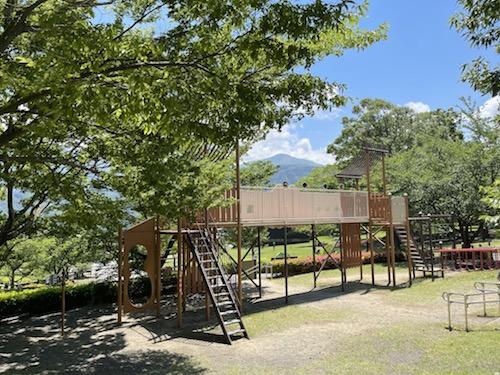 富士川クラフトパーク・砦遊具広場