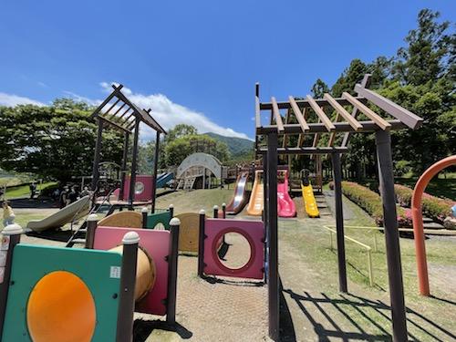 富士川クラフトパーク・砦遊具広場(幼児向け)