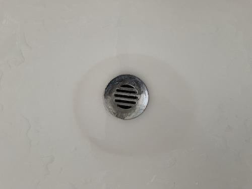 ピューミィを洗面台に使った場合