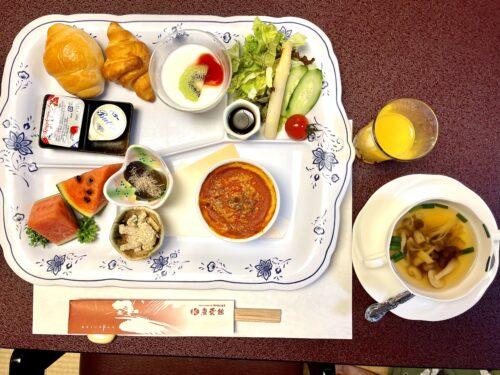 西山温泉・慶雲館の子ども向けの朝食